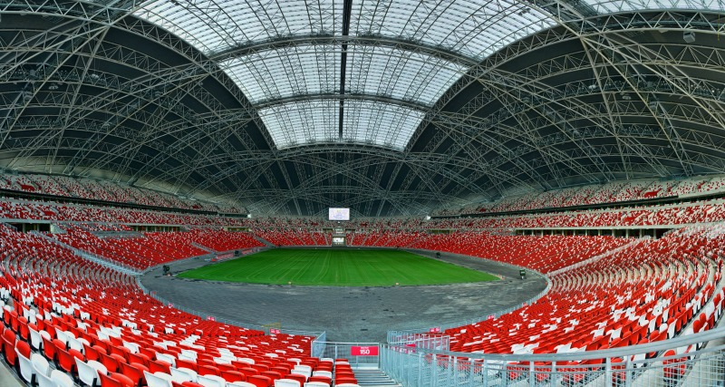 The spacious Singapore Sports hub will be hosting this fun-filled jamboree