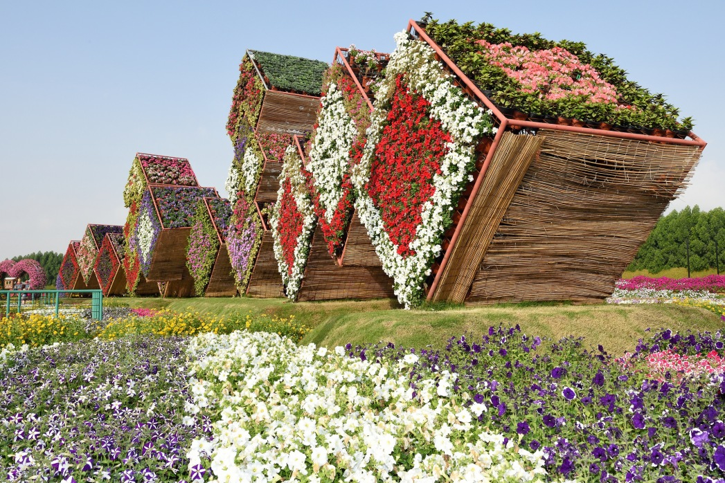 The magical designs of Miracle Garden in Dubai