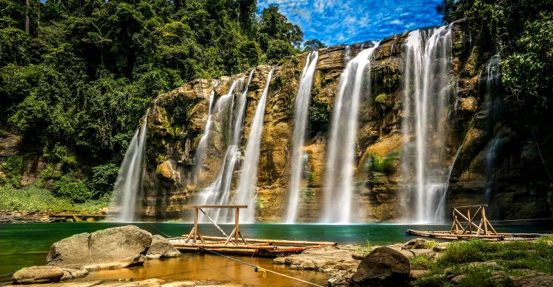 This 55-meter-high waterfall in Bislig, Surigao del Sur is worth the visit!