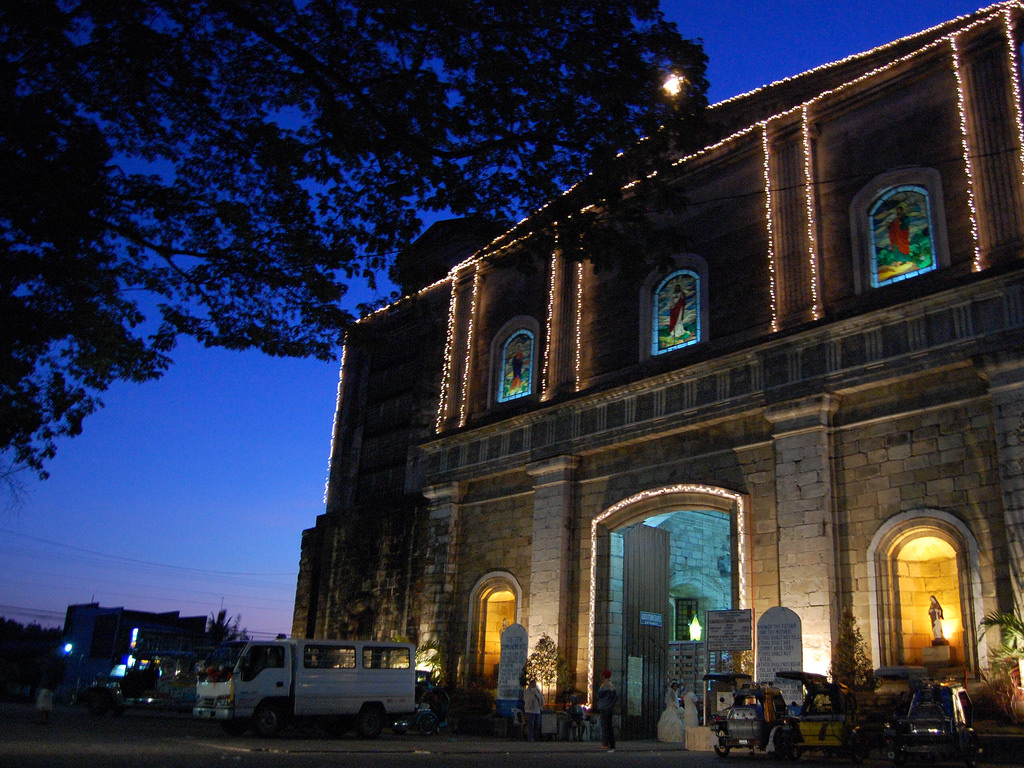 A beautiful old church in Pangasinan