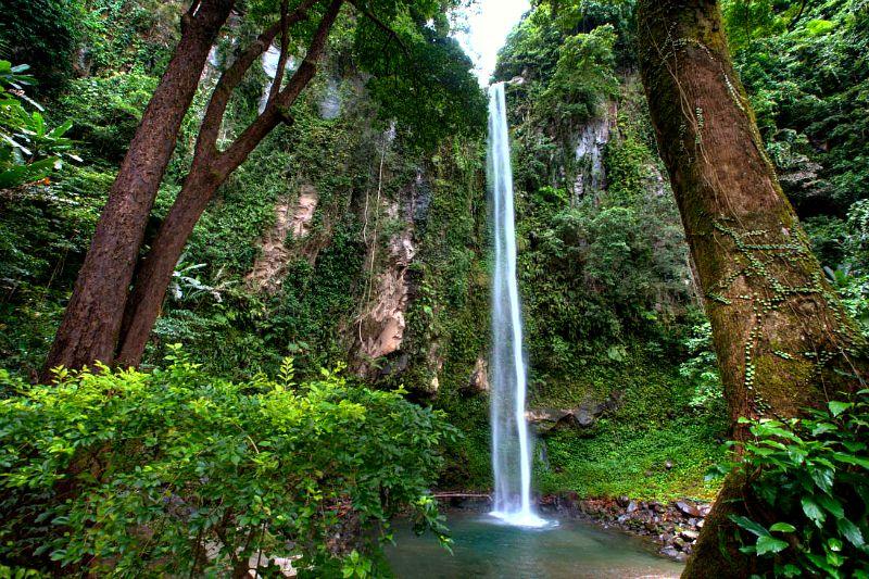 Katibawasan Falls in Mambajao, Camiguin