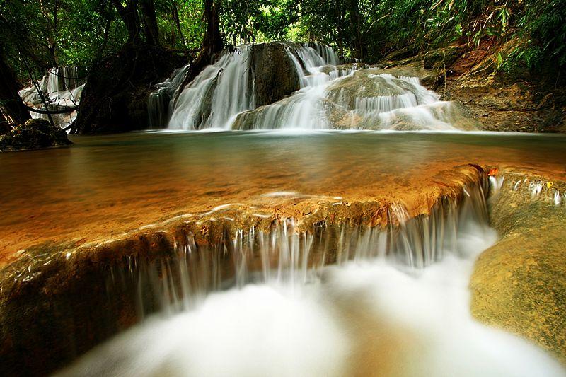 Kaangrian Falls in Burgos, Ilocos Norte