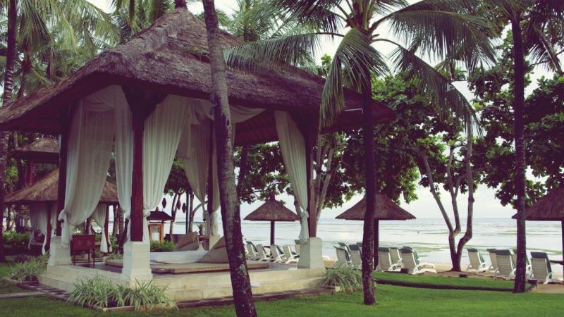A lavish spa resort in Bali, Indonesia