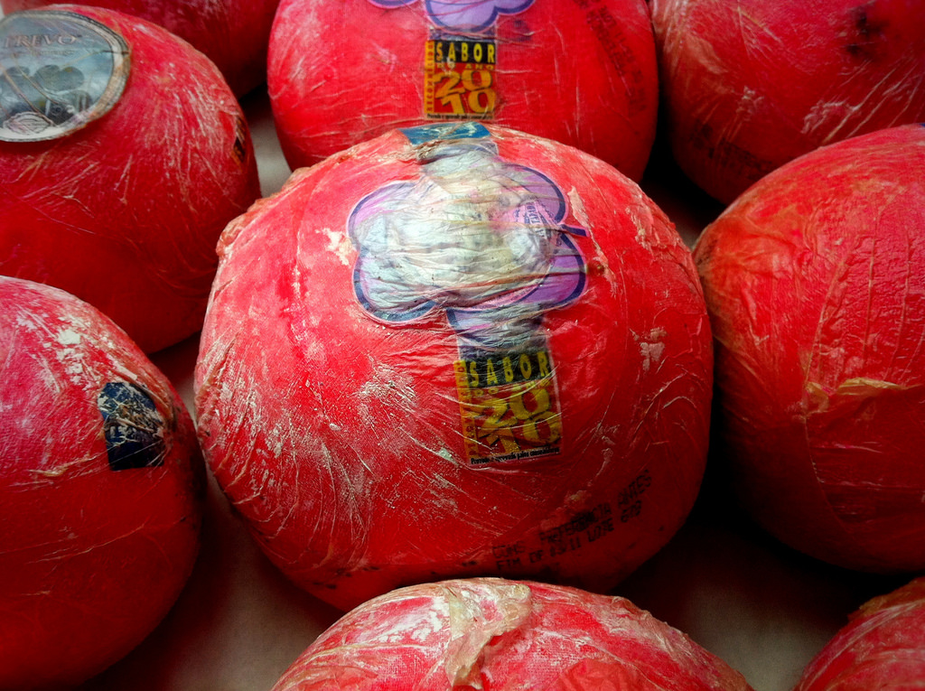 A group of fresh and well-made Queso de Bola