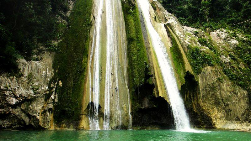 Dodiongan Falls in Iligan, Lanao del Norte