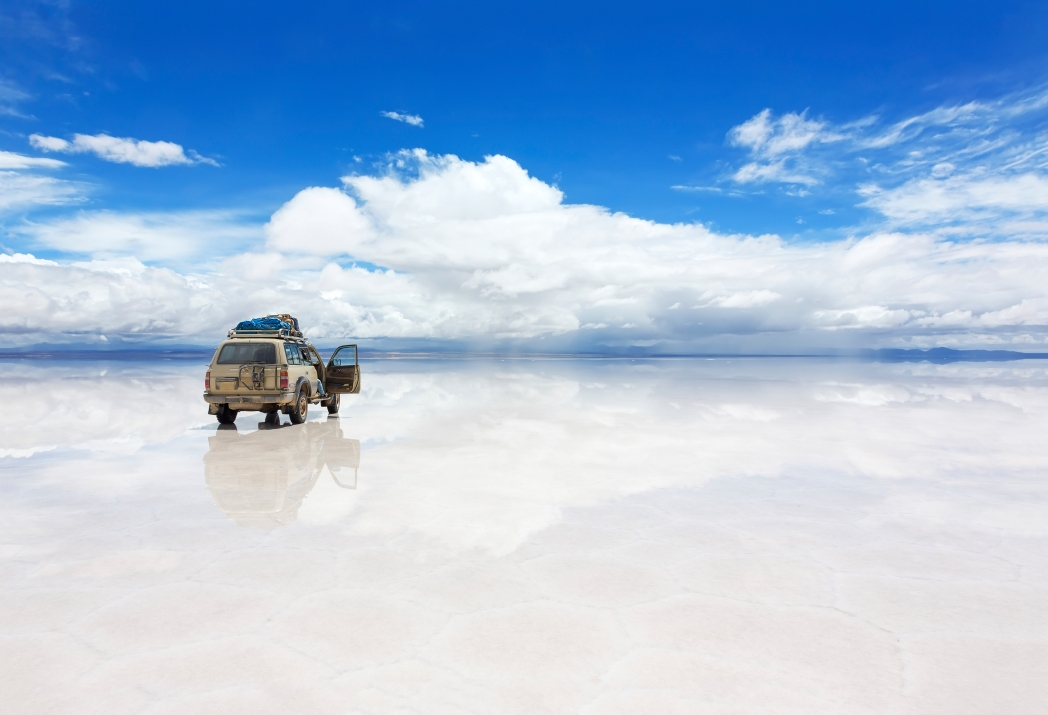 The mesmerizing salt flats of Bolivia