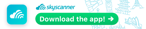 Download the Skyscanner app!